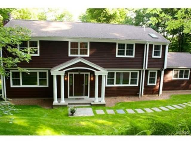 This house at 7 Hilltop Circle in Chappaqua is open for viewing on Saturday, Dec. 20.