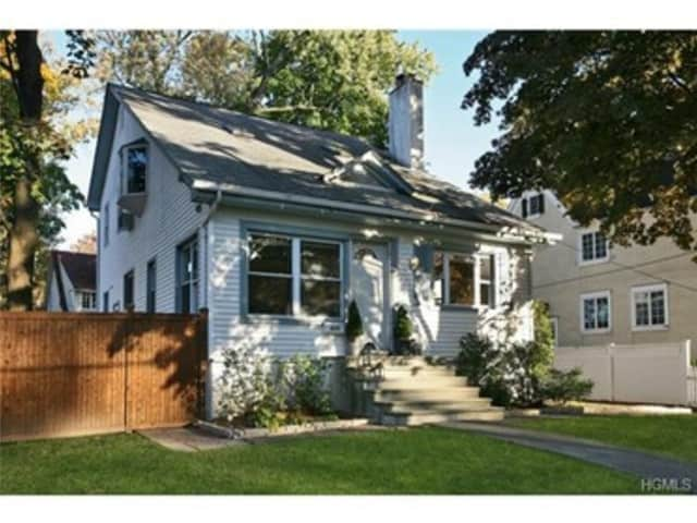 This house at 418 Carol Place in Pelham is open for viewing on Sunday.