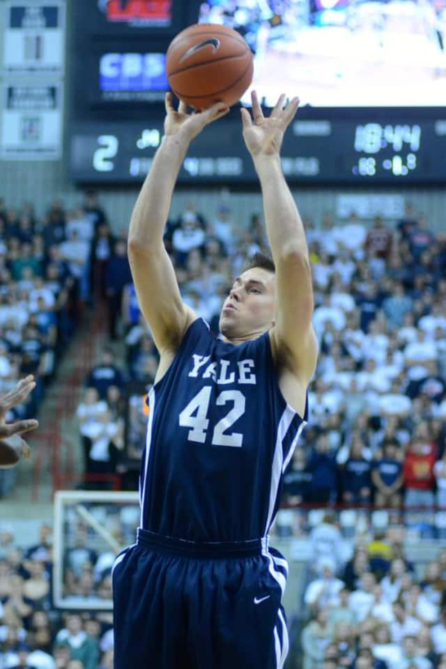 Matt Townsend of Chappaqua hit the game-winning basket for Yale University in a win last week against Vermont.