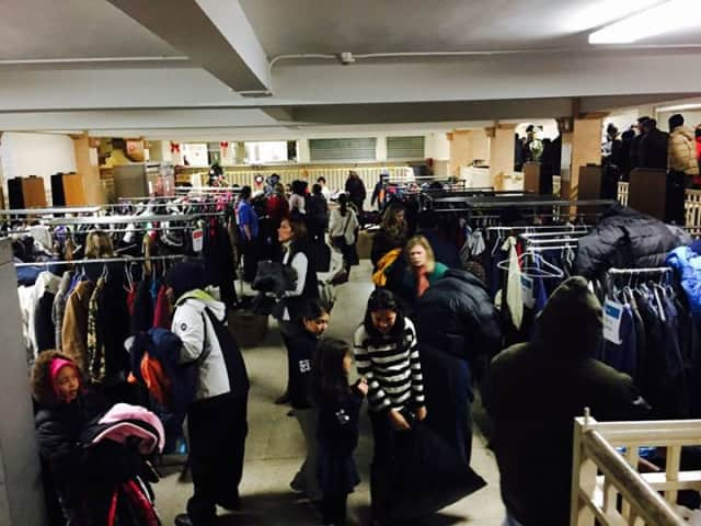 The Junior League of Bronxville's annual coat drive brought in 800 coats for the Mount Vernon community.