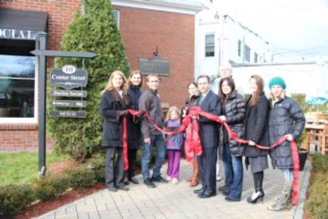 Kaia Yoga held a ribbon-cutting ceremony to commemorate its acquisition of Darien-based Venture Yoga.