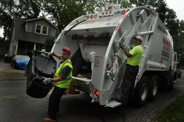 There will be no garbage pickup or recycling collection in Norwalk on Christmas Day.