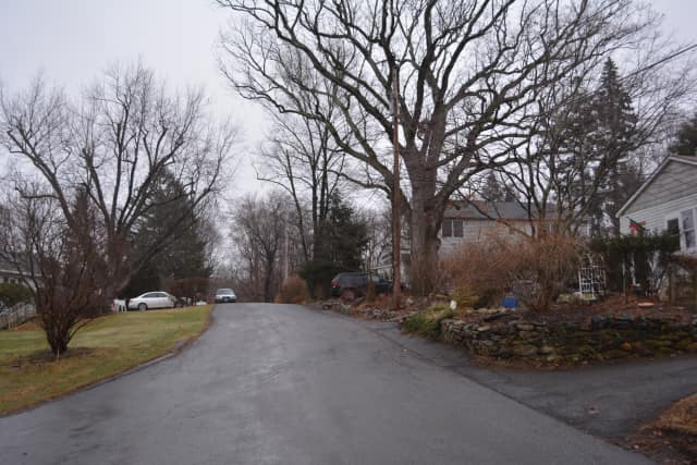 Birch Road in Somers