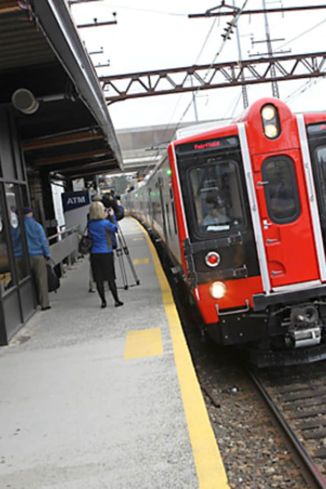 Metro-North trains are seeing delays on Tuesday afternoon.