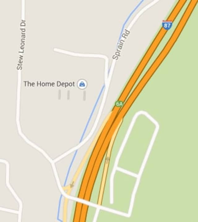 A man was killed in a two-car crash near the Greenburgh-Yonkers border on Wednesday.