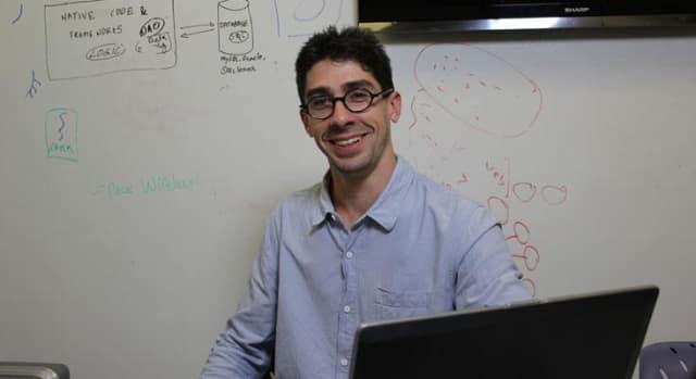 """Pace University doctoral candidate John Vincent """"Vinnie"""" Monaco."""