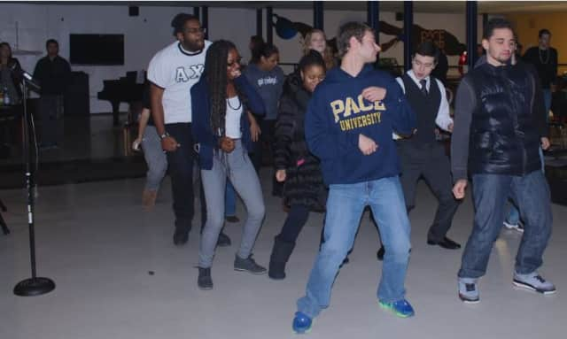 Pace University's WPAW held its open mic night, which featured more than 20 performances.