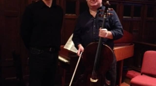"Cellist Eugene Briskin and harpsichord player Sándor Szabó will be part of ""An Evening of J.S. Bach"" on Friday, Jan. 30, at the Bronxville Library."