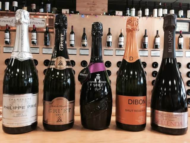 Grape Expectations's top five suggestions for New Year's Eve.