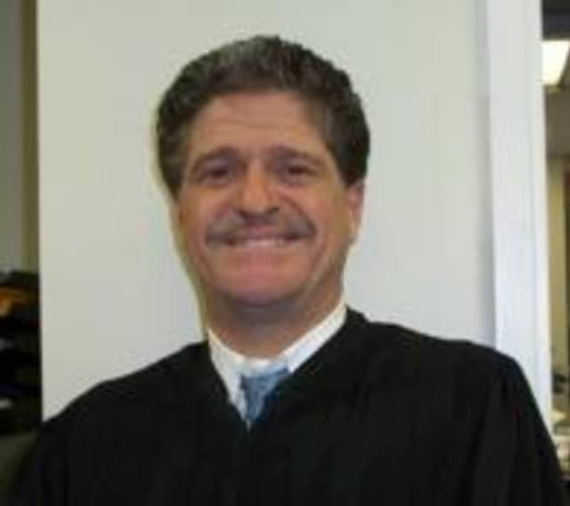 Harrison Town Justice Marc Lust was charged with DWI on Friday, Dec. 19.