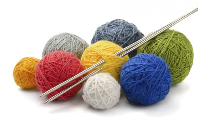 The Sherman Library is hosting a knitting and needle arts creativity activity.