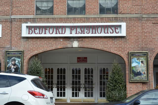 The Bedford Playhouse is in downtown Bedford Village.