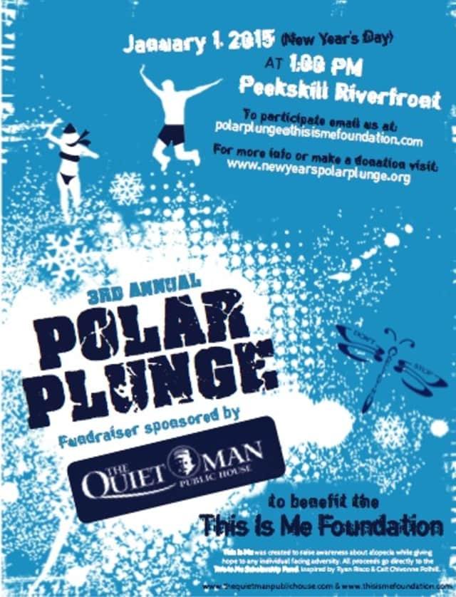 Peekskill hosts its Third Annual Polar Plunge Jan. 1, 2015.