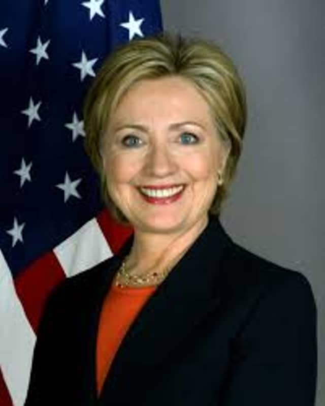 """Hillary Clinton was the """"New Year's Date of Choice"""" in a recent Quinnipiac University poll."""