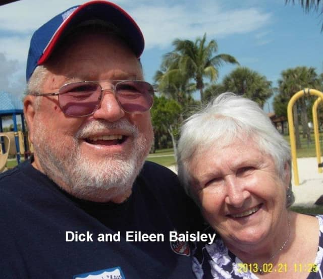 Rich and Eileen Baisley host an annual Peekskill reunion in Florida.