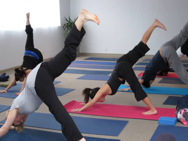 The Edith Wheeler Memorial Library in Monroe is offering a yoga class for adults.