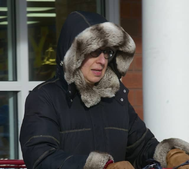 Western Connecticut State University meteorologist Gary Lessor warns residents to bundle when spending time outside in Saturday's below-zero temperatures and wind chills.