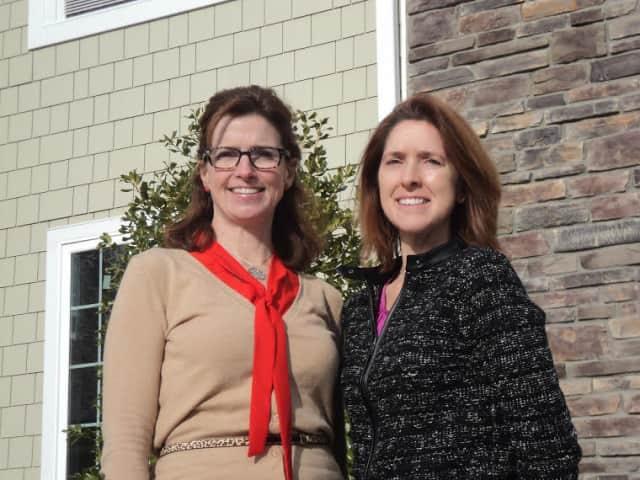 Siobhan Morello, left, and Katherine Azbell.
