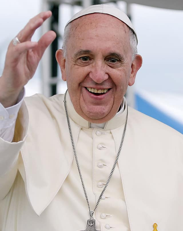 Students at a Yonkers Catholic school received a special lesson Wednesday afternoon along with a blessing in anticipation of Pope Francis' arrival in New York, according to Westchester news.