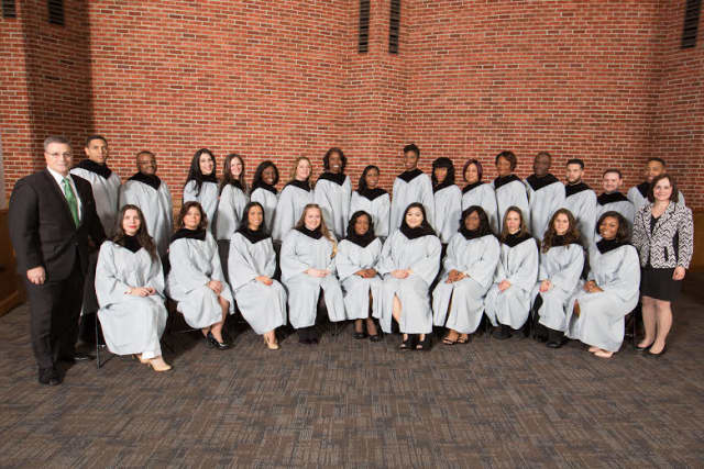 Recent graduates of Montefiore School of Nursing.