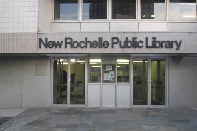 New Rochelle Public Library.
