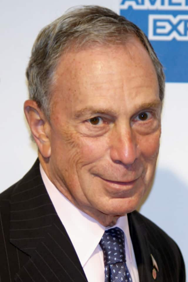 Michael Bloomberg, who owns a home in North Salem.