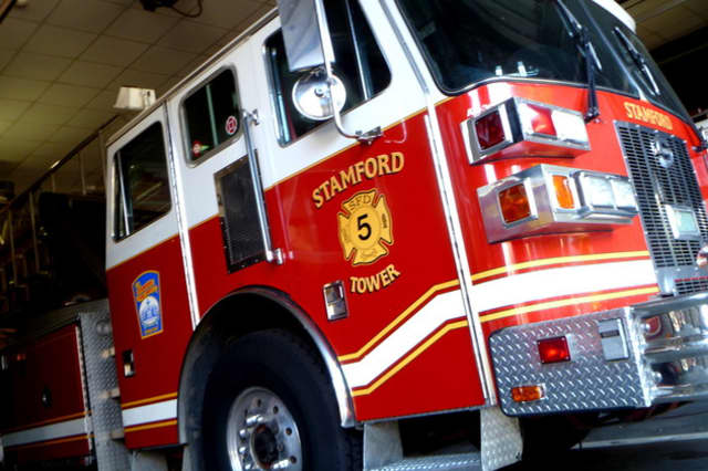 A fire broke out Sunday evening at a two-family home on Stephen Street in Stamford.