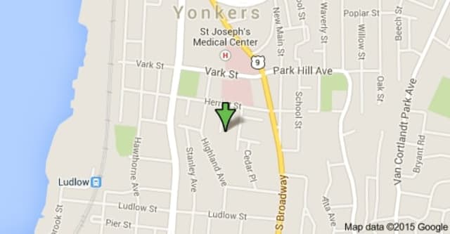 A fire broke out at 56 Groshon Ave. in Yonkers on Wednesday morning.