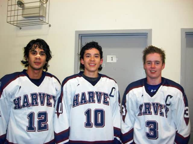 Harvey hockey linemates Theo Rattner of Waccabuc, Keith Lambert of Cortlandt Manor and Connor Wilson have combined for 56 goals. Harvey plays in a tournament this weekend hosted by Scarsdale. The games will be played in Yonkers.