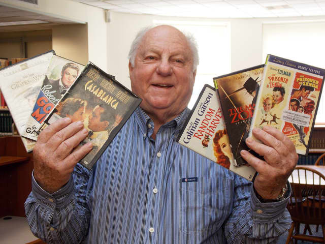 Rob Goldstone, known as Westchester County's 'Movie Man,' runs Larchmont Public Library's monthly 'Book And The Movie' program.