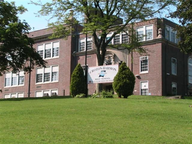 A teenager was arrested after making a threat to Croton-Harmon High School