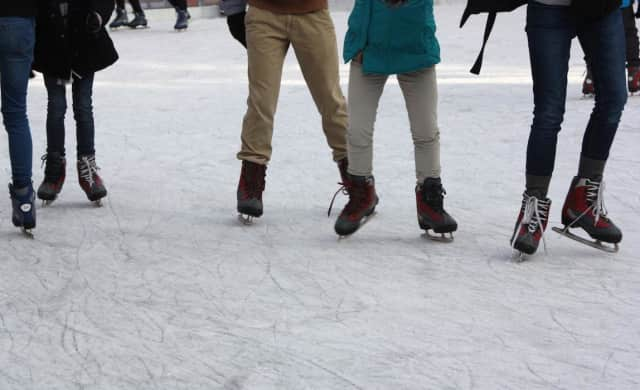 The ice skating party will be at Tuckahoe Home Ice Advantage.