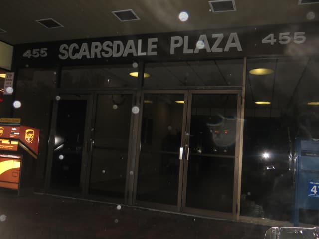 A massage parlor advertised at this Scarsdale address at 455 Central Ave.