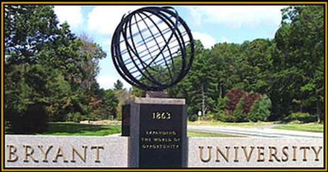 Two Wilton residents were named to the dean's list at Bryant University.