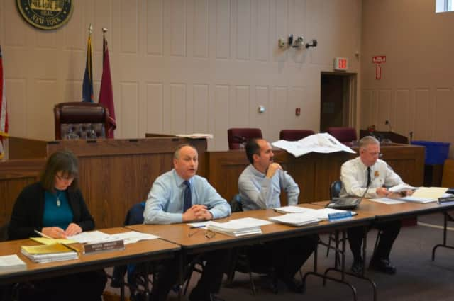 The state's Hudson Valley Regional Board, pictured, approved four variances sought for the Chappaqua Station affordable housing proposal.