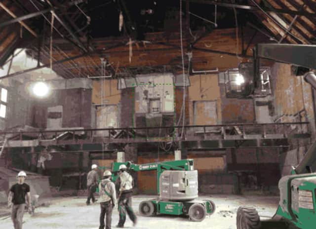 Construction is set to continue on the new Bronxville High School auditorium.