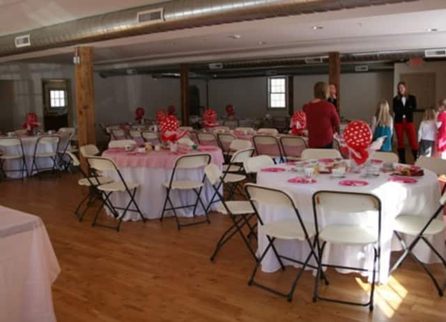 Ambler Farm hosts numerous winter events, such as this Valentine's Tea in 2013.