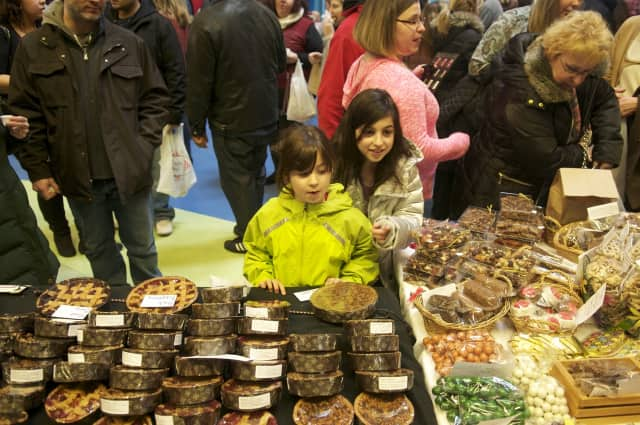 Many choices of chocolate will be available to sample and buy at the Norwalk Aquarium Chocolate Expo.