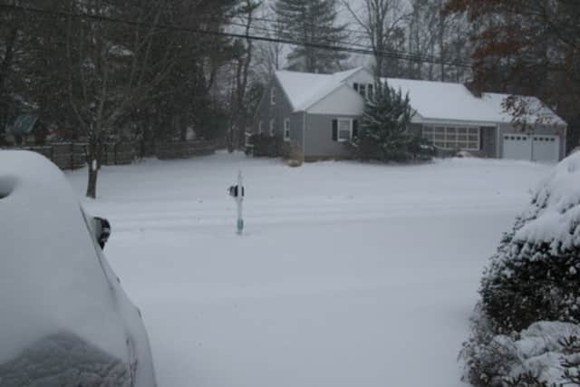 As snow blankets Westport Monday night and Tuesday morning, First Selectman Jim Marpe said the town was able to let is pass without major incident.