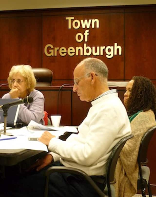 Greenburgh Supervisor Paul Feiner at a town board meeting. Feiner, supervisor since 1991, ran unopposed on Tuesday as did every other elected official in Greenburgh and three villages within the town: Ardsley, Dobbs Ferry and Irvington.
