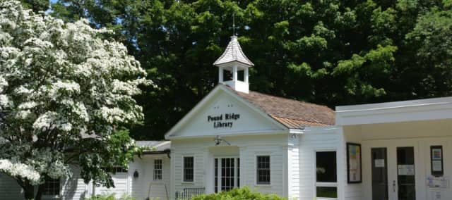 The Pound Ridge Library is helping raise awareness about human trafficking with an art exhibit.