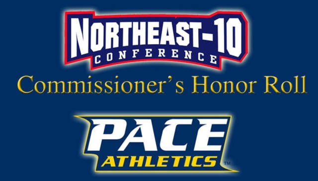 Pace University student-athletes were named to the NE-10 Commissioner's Honor Roll.
