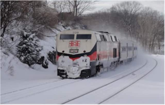 Metro-North will suspend train service for the safety of its passengers and crews.