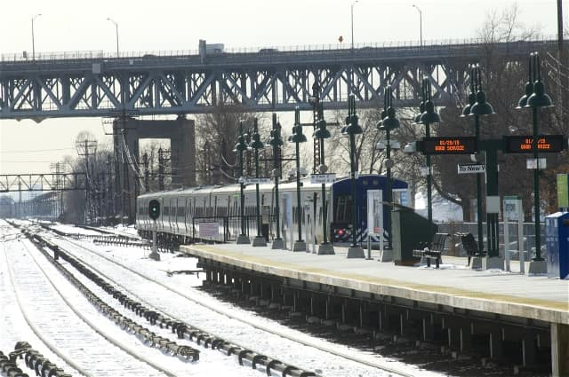 Tarrytown train station is among the many served by Metro North.