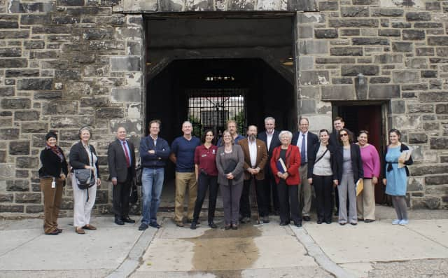Assemblywoman Sandy Galef along with Westchester County Legislator Catherine Borgia and other local friends of the Sing Sing Historic Prison Museum went on a visit to Eastern State Penitentiary last October.