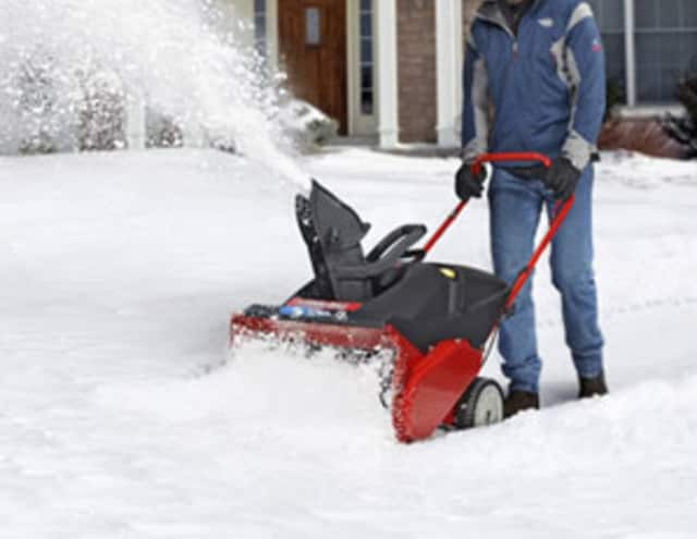 People should be careful when operating snowblower equipment, according to Dr. Ari Mayerfield.