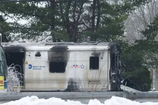 A Metro North train crash in Valhalla killed six people.
