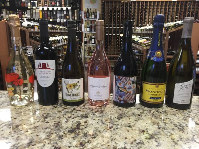 Valentine's Day wine suggestions from Ridgefield's Village Wine and Spirits.
