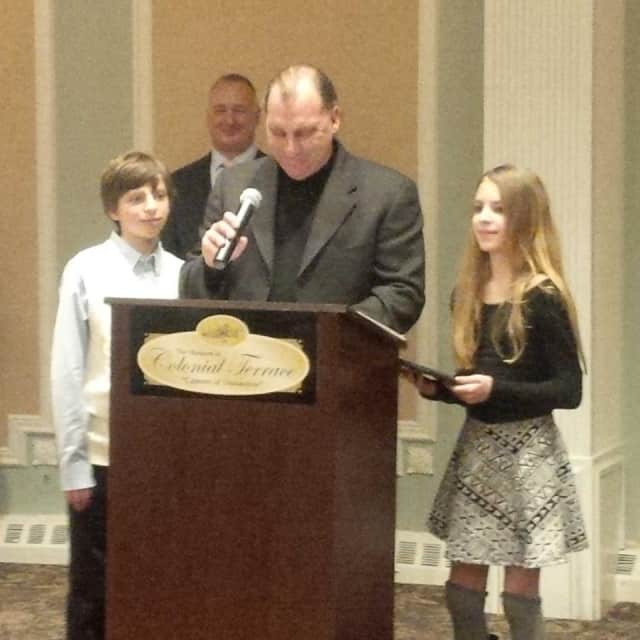 The Ryan family was honored as family of the year by United Martial Arts Centers.