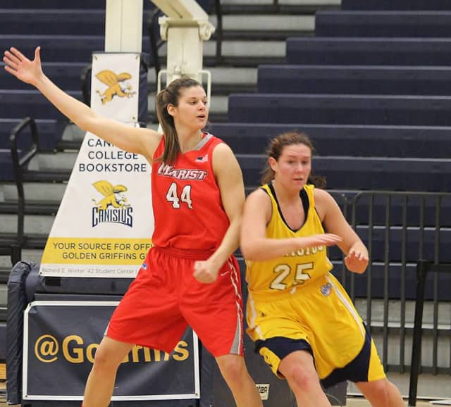 Tori Jarosz of Cortlandt Manor was named the MAAC Women's Basketball Player of the Week for the second time this season.